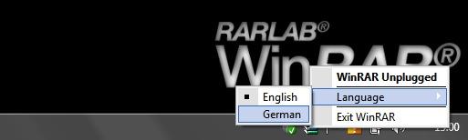 WinRAR unplugged