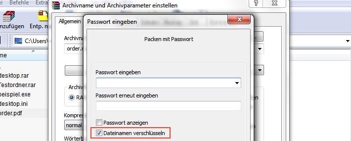 Dateinamen verschlüsseln