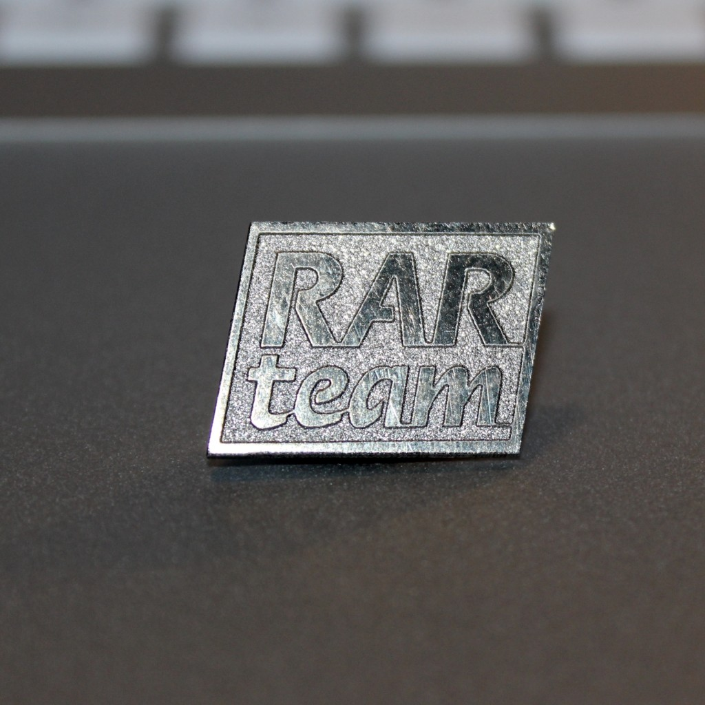 RAR Team-Pin